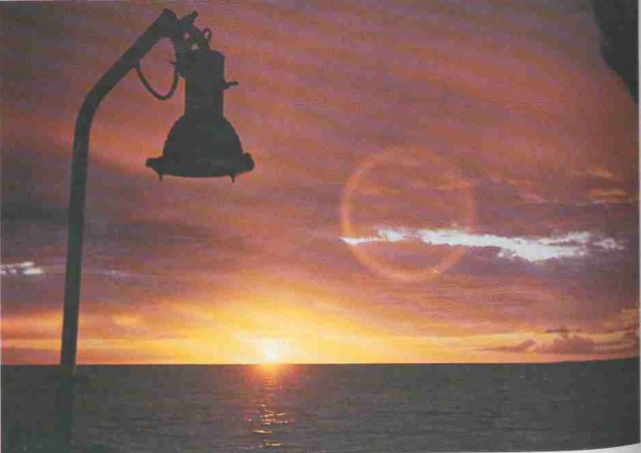 1985 год. Незабываемые закаты острова Мадагаскар. 20-ый экспедиционный рейс НИС «Профессор Богоров».
