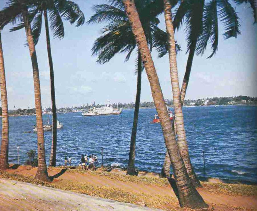 1980 год. Рифы Зап. Самоа.