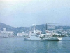 Приход НИС «Профессор Богоров» в родной порт приписки Владивосток  после очередного тропического рейса.